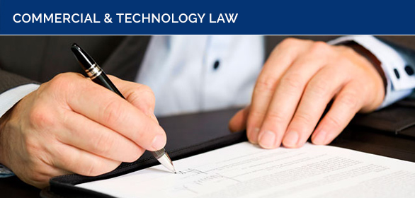 Commercial and Technology Law